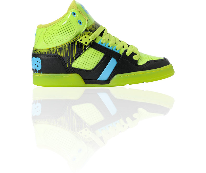 Latest Skate Shoes For Lower Prices Osiris Nyc 83 Lime