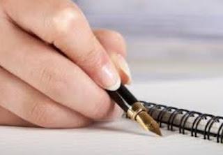 menulis rencana