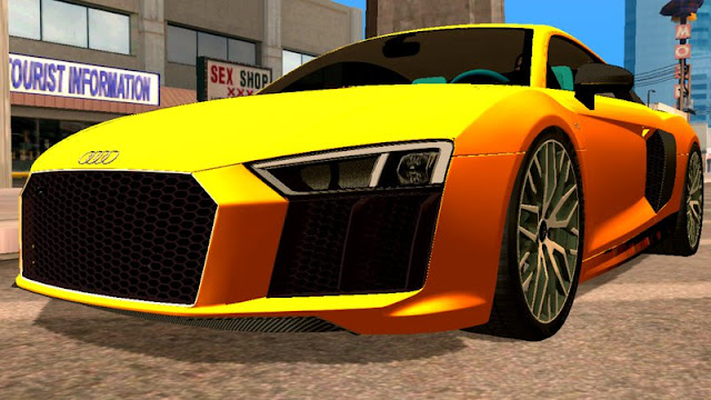 Download Audi R8 2017 Car Mod Download Android Mod Gta