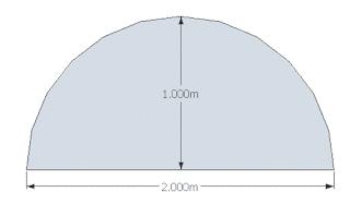 Membuat Garis Lengkung di Google SketchUp dengan Menggunakan Perintah Arc