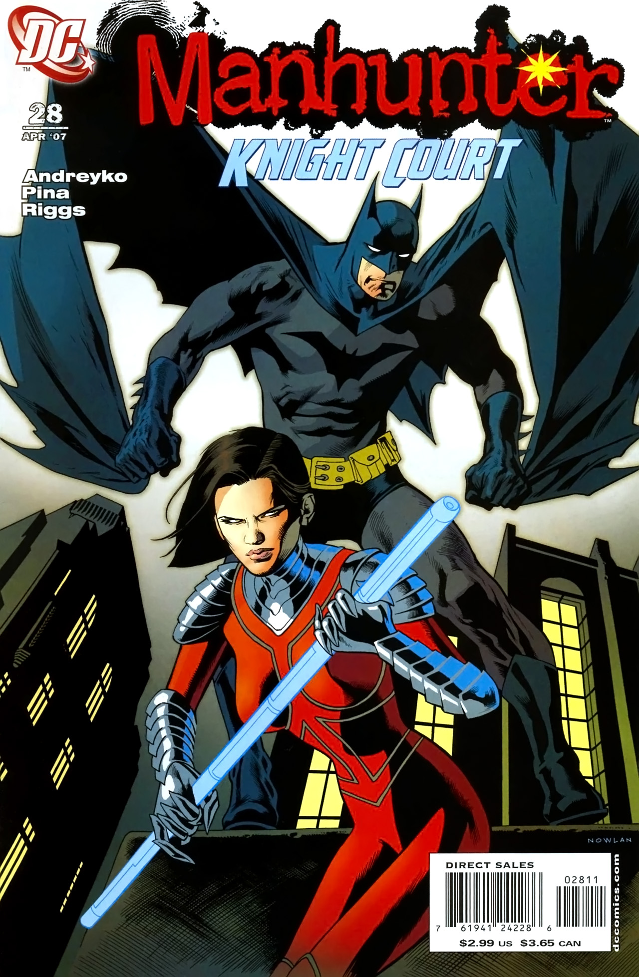Manhunter (2004) issue 28 - Page 1