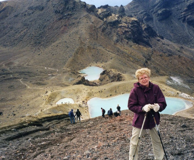 Tongariro Crossing, New Zealand,
