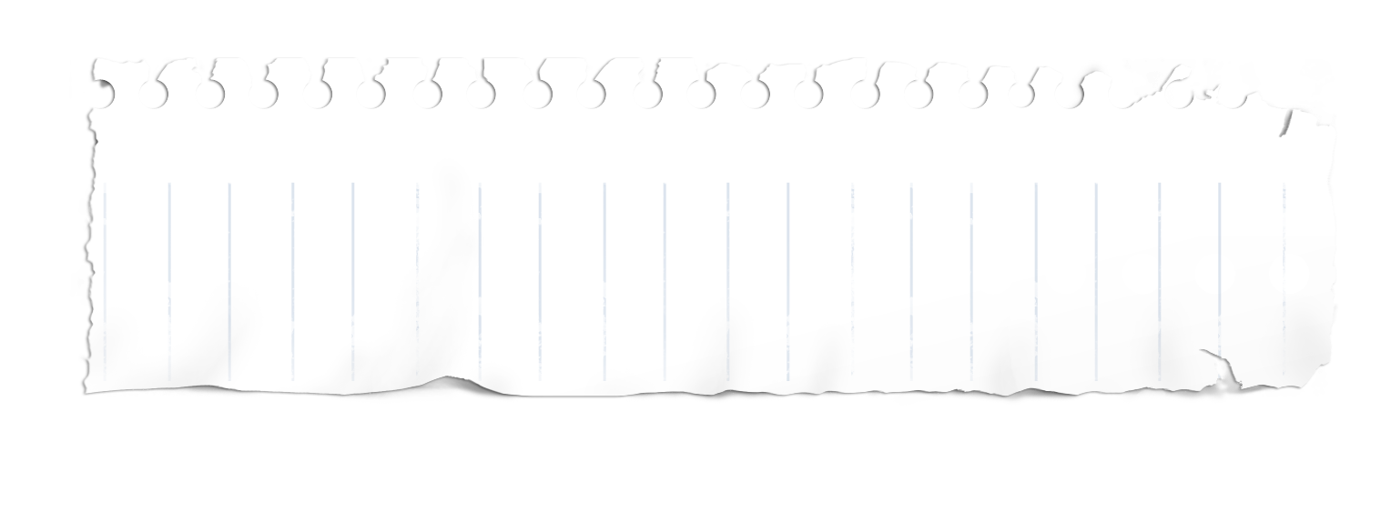 Torn Notebook Paper Png For Ripped Pictures