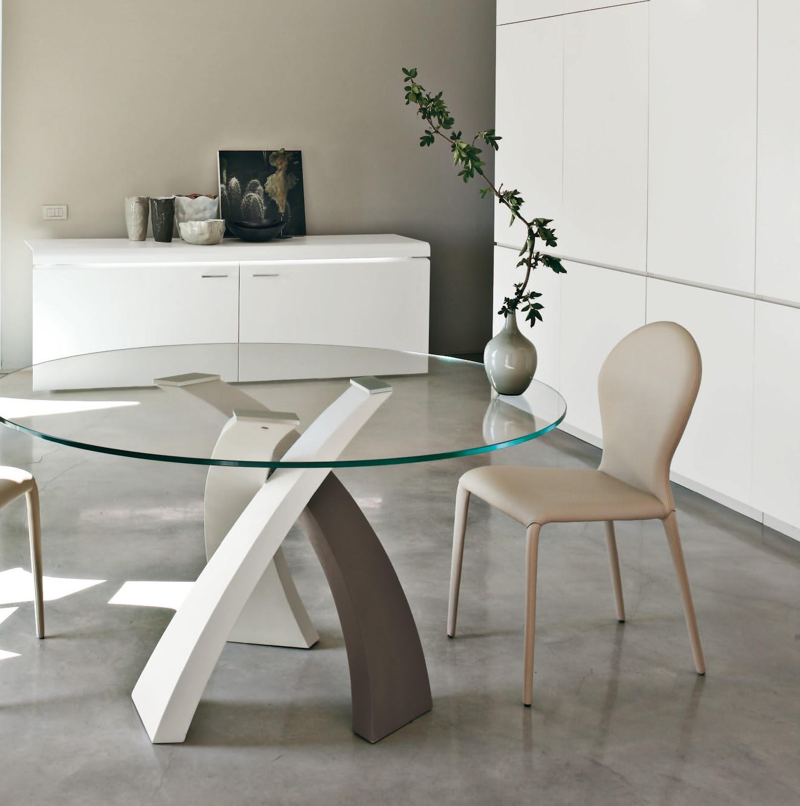 inspiration mobilier design table ronde design. Black Bedroom Furniture Sets. Home Design Ideas