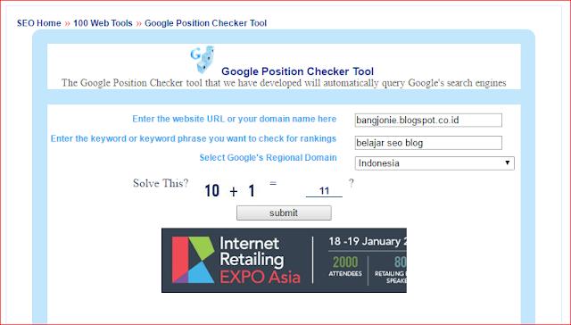 Cara Mengetahui Peringkat Keyword di Google