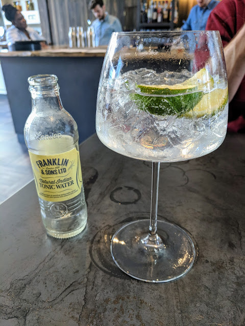 Where to drink in Edinburgh in summer: Gin and Tonic at Apothecary