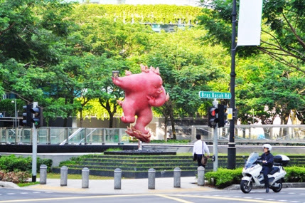 Bras Basah Street Singapore