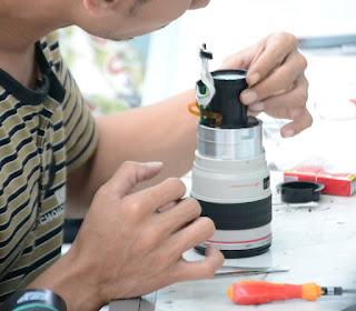 Service Lensa Kamera di Malang