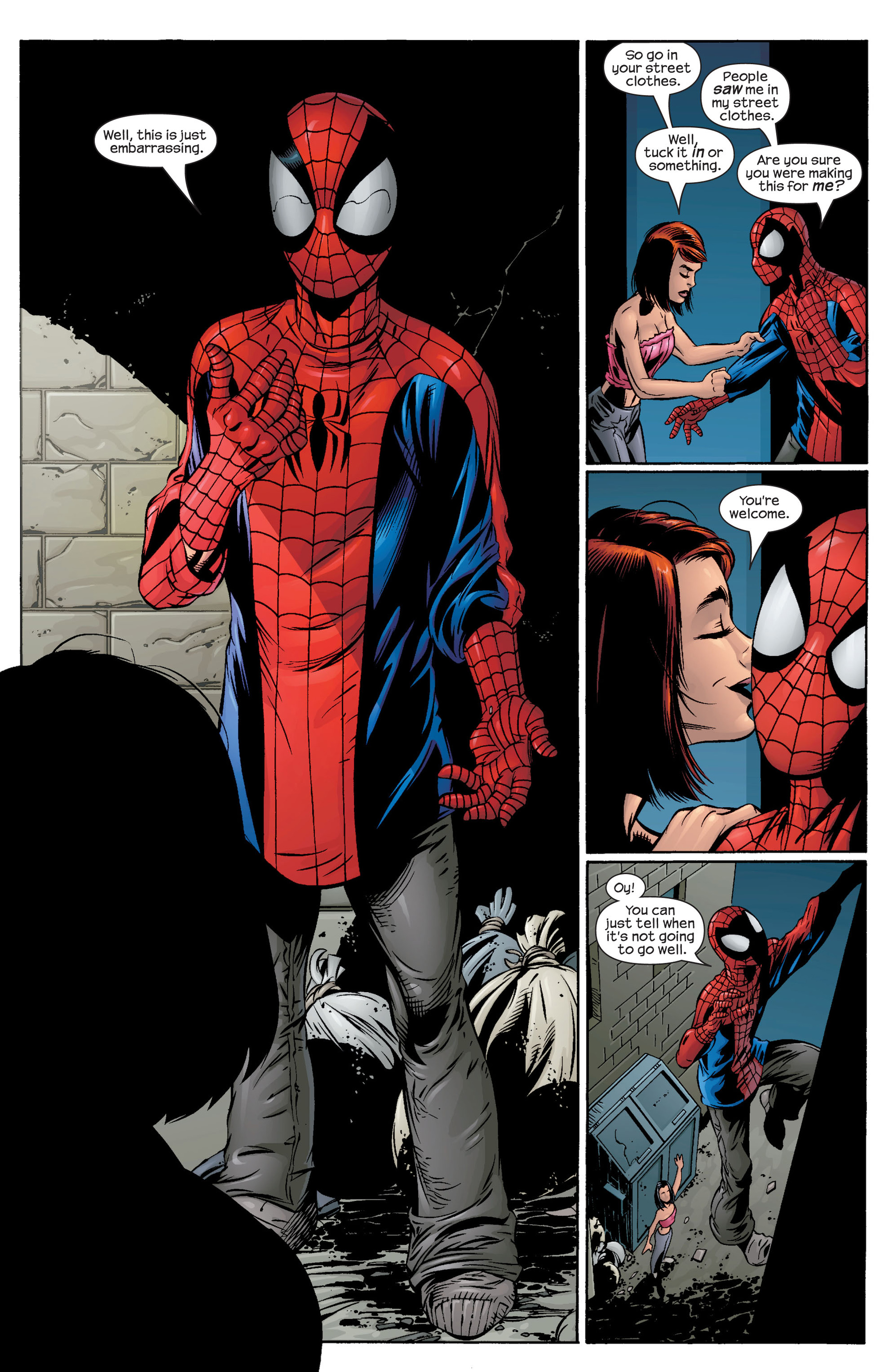 Read online Ultimate Spider-Man (2000) comic -  Issue #41 - 21