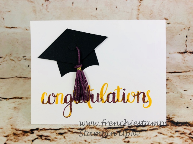 Graduation Cap Greeting Card, Best Batch Punch, Amazing Congratulation,