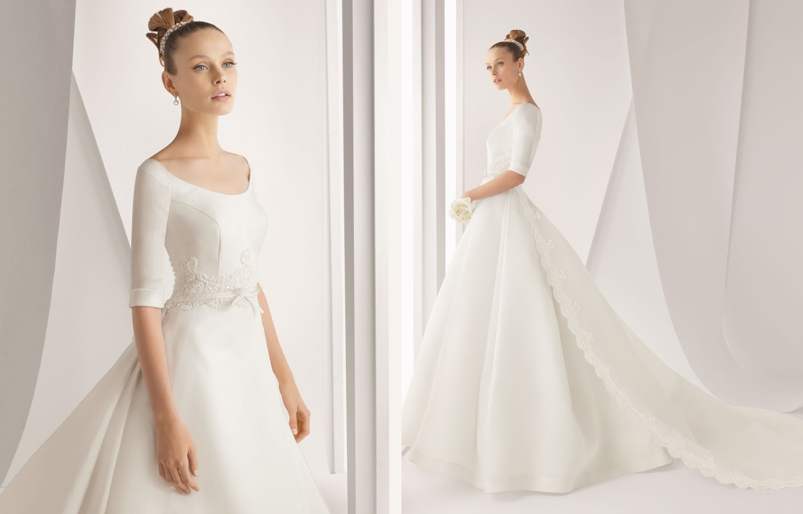 simple but beautiful wedding dresses | Wedding