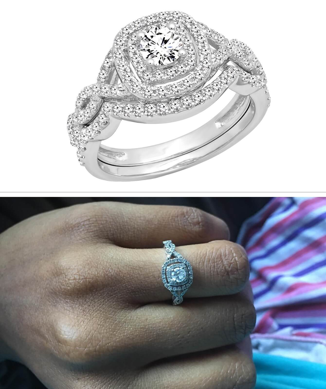 12 Pretty Wedding Rings That Might Actually Take Your Breath Away