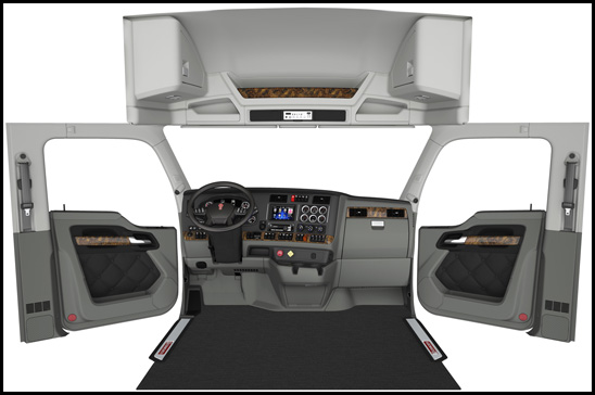 New Kenworth Interior for T680, T880 and W990