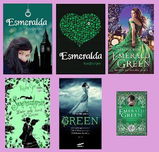 Reseña de la novela de fantasía juvenil de viajes en el tiempo Esmeralda, de Kerstin Gier