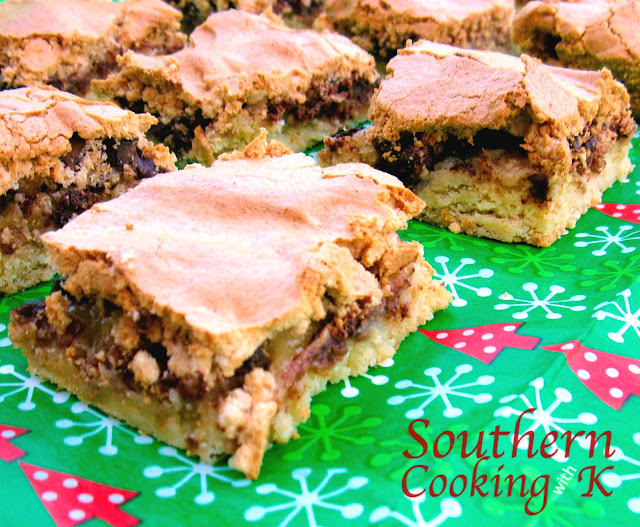 Mud Hen Bars ~ Weekend Potluck #303 - The Country Cook