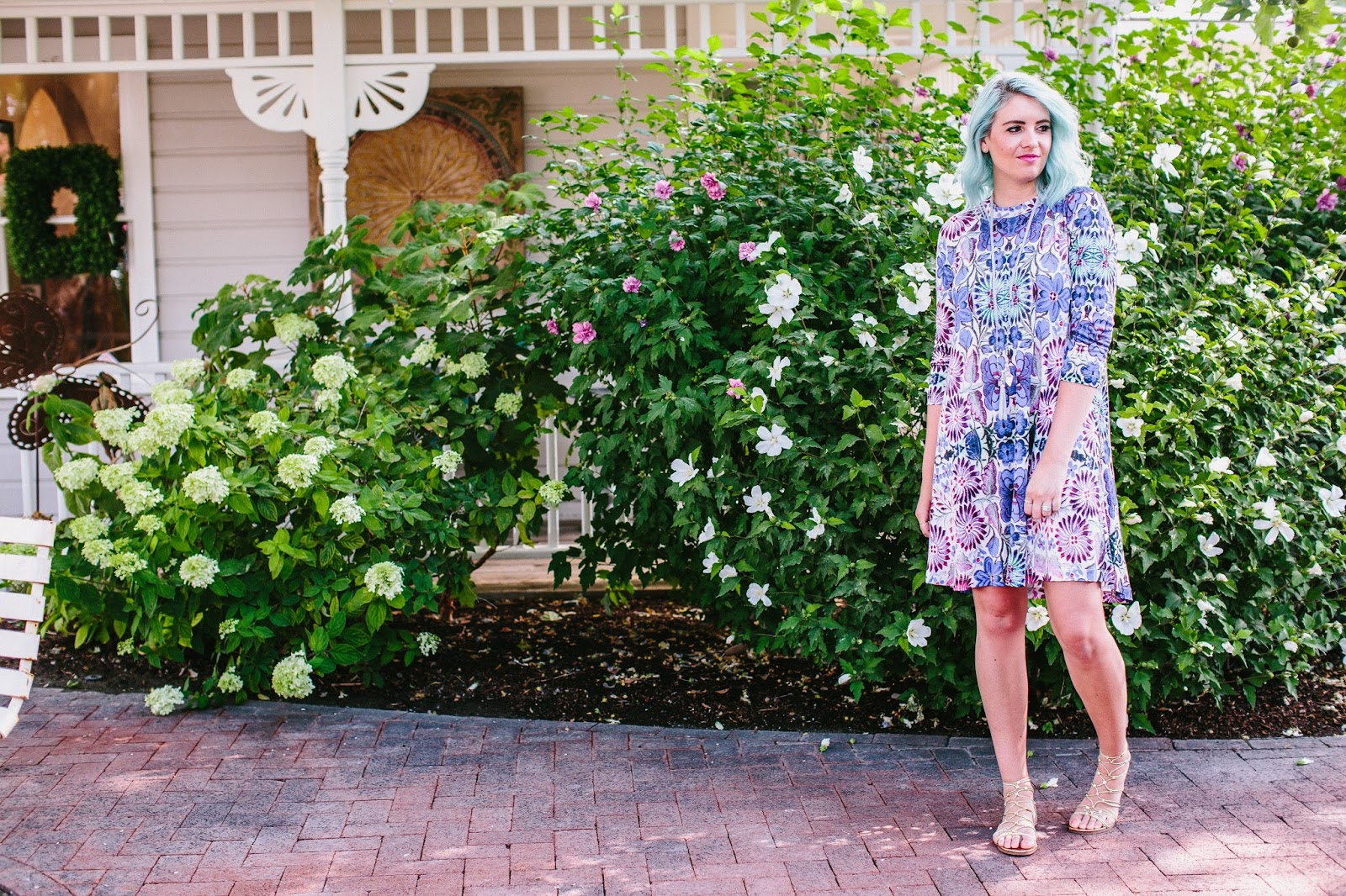 Anthropologie, Utah Fashion Blogger, Modest Outfit