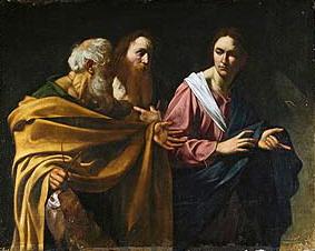 カラヴァッジョ、聖ペテロと聖アンデレの召命、ロイヤルコレクション