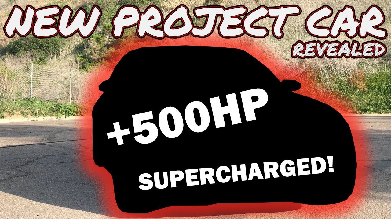 WATCH: 500+ HP Supercharged Project Car?! - throtl Media and