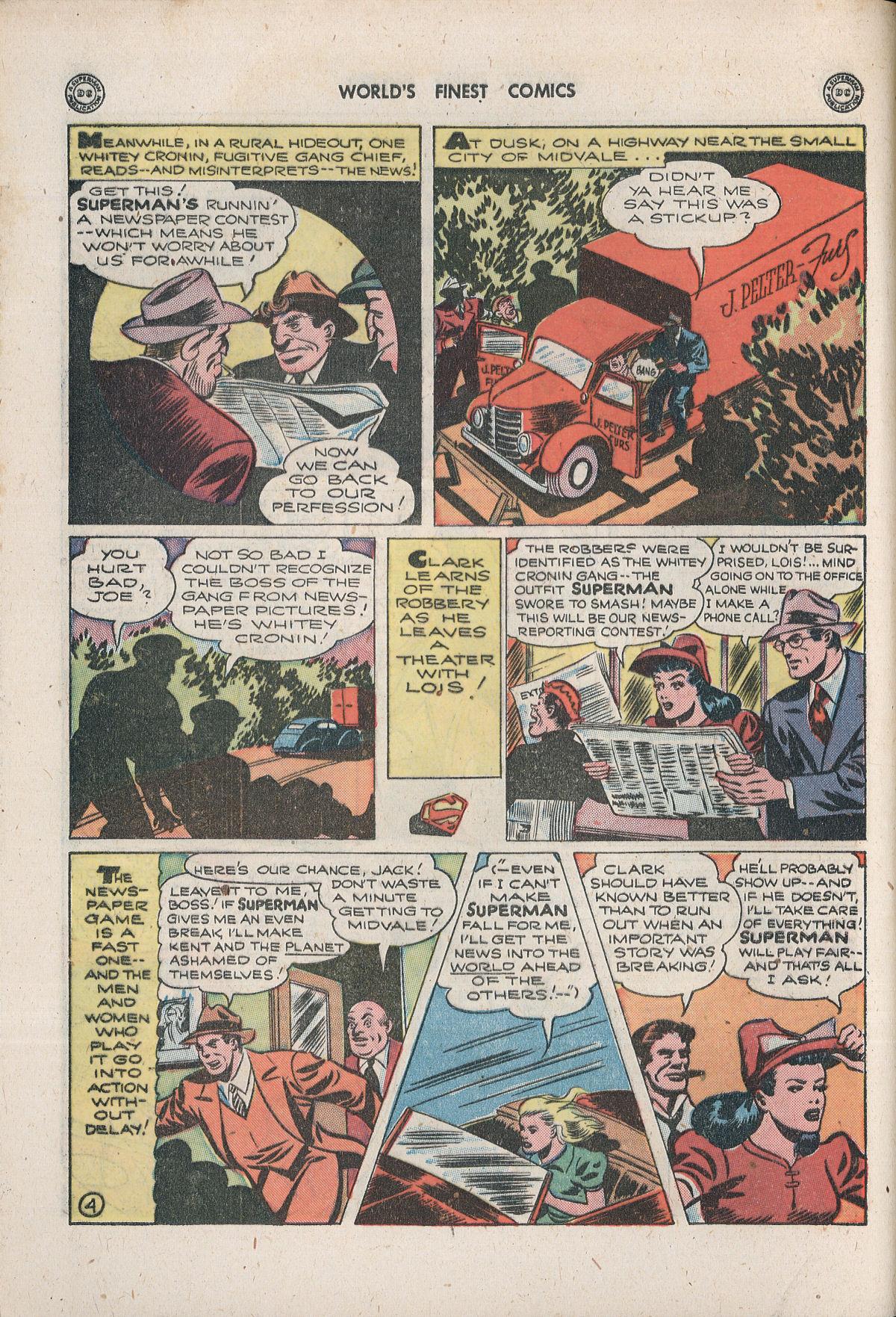 Read online World's Finest Comics comic -  Issue #33 - 6