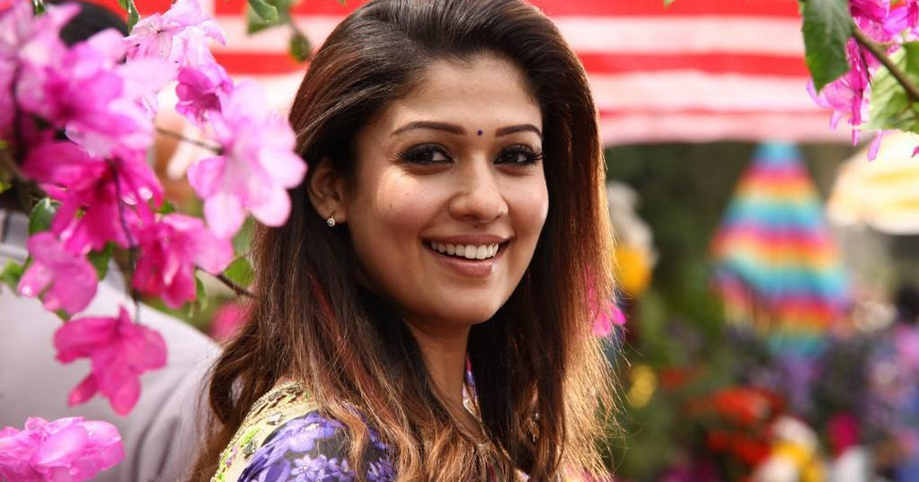 Indian Hot Girl Actress Nayanthara Stills From Tamil Movie -8673