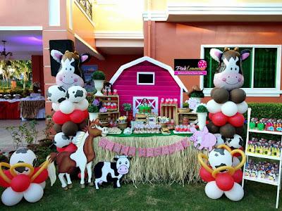 Barn themed Sweet Buffet