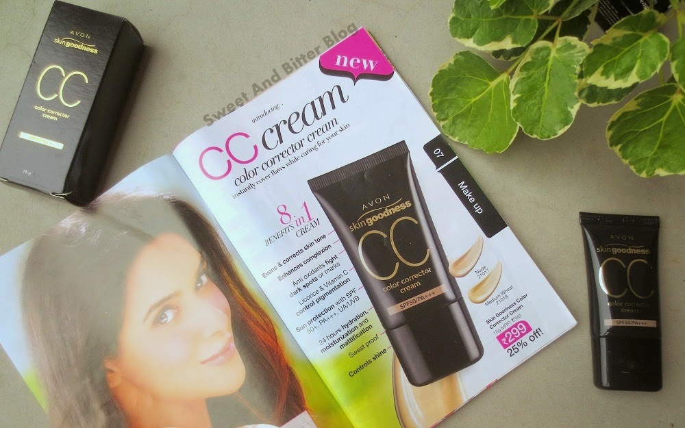 Avon Skin Goodness CC Cream SPF 50 PA+++ India Review