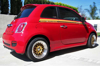 Road Race Motorsports Fiat 500 CLUB///SPORTIVO