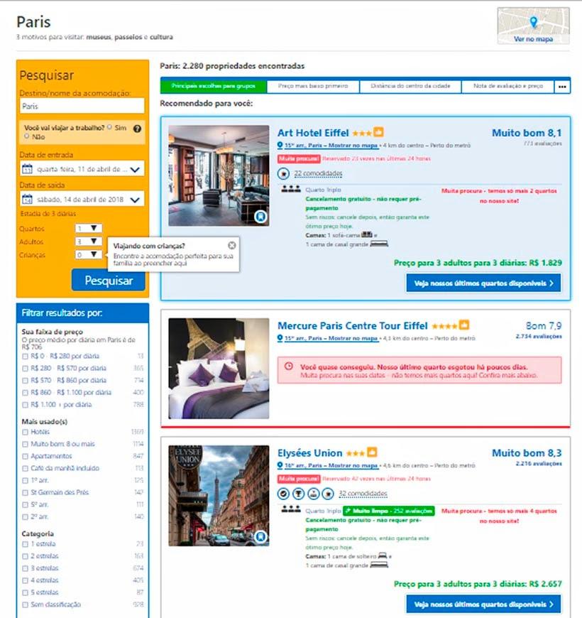 Como reservar hotel sem complicação - Booking