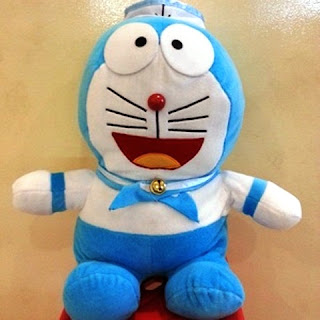 Boneka doraemon sailor jumbo