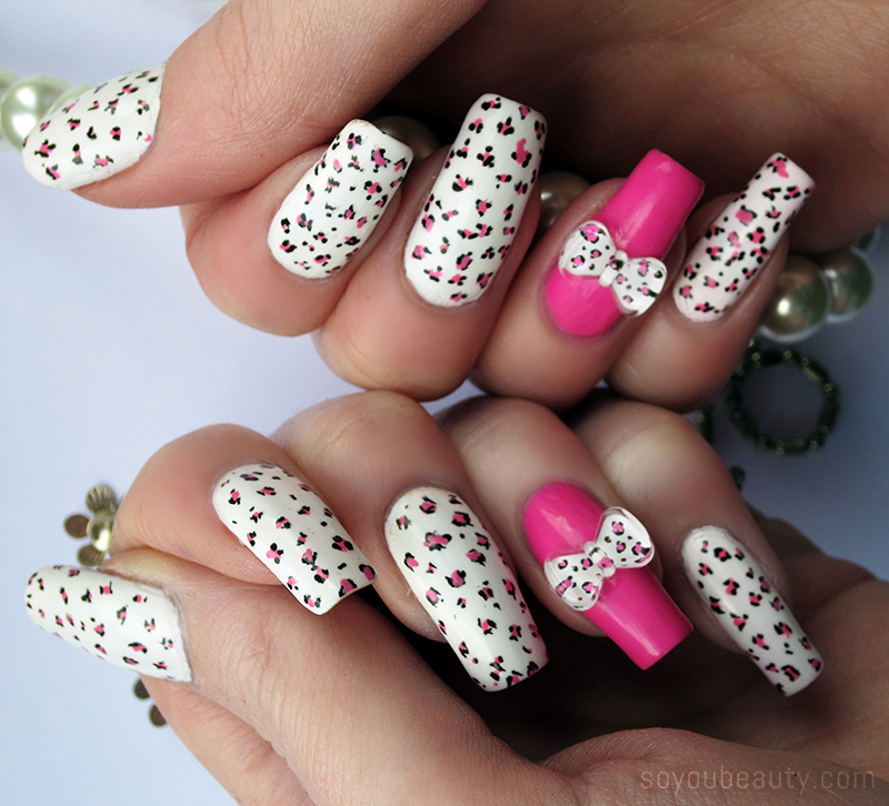 Roaring Leopard Print Nail Art You Must Try