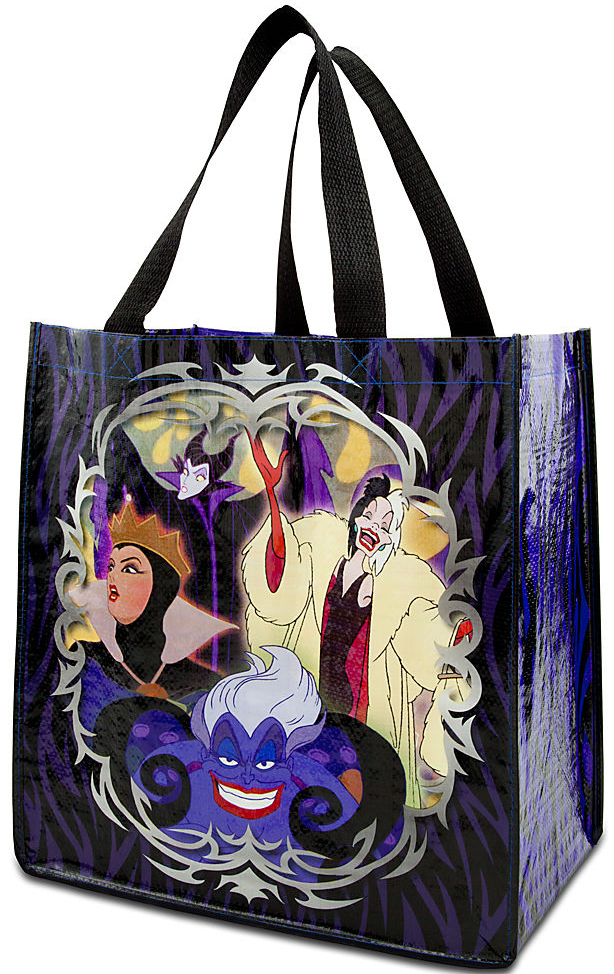 Ping Tote From The Classic Disney Villains Collection Screen Art Includes Evil Queen Maleficent Cruella Devil And Ursula Made 80 Post Consumer