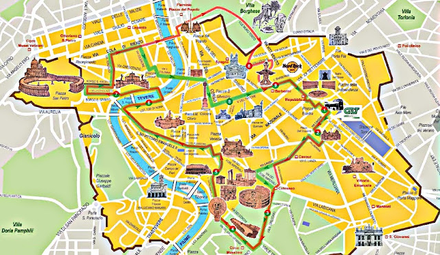 Sobre o passeio de ônibus turístico em Roma