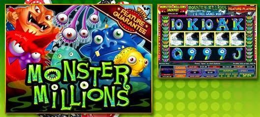 Slot Madness casino Monster Millions slot