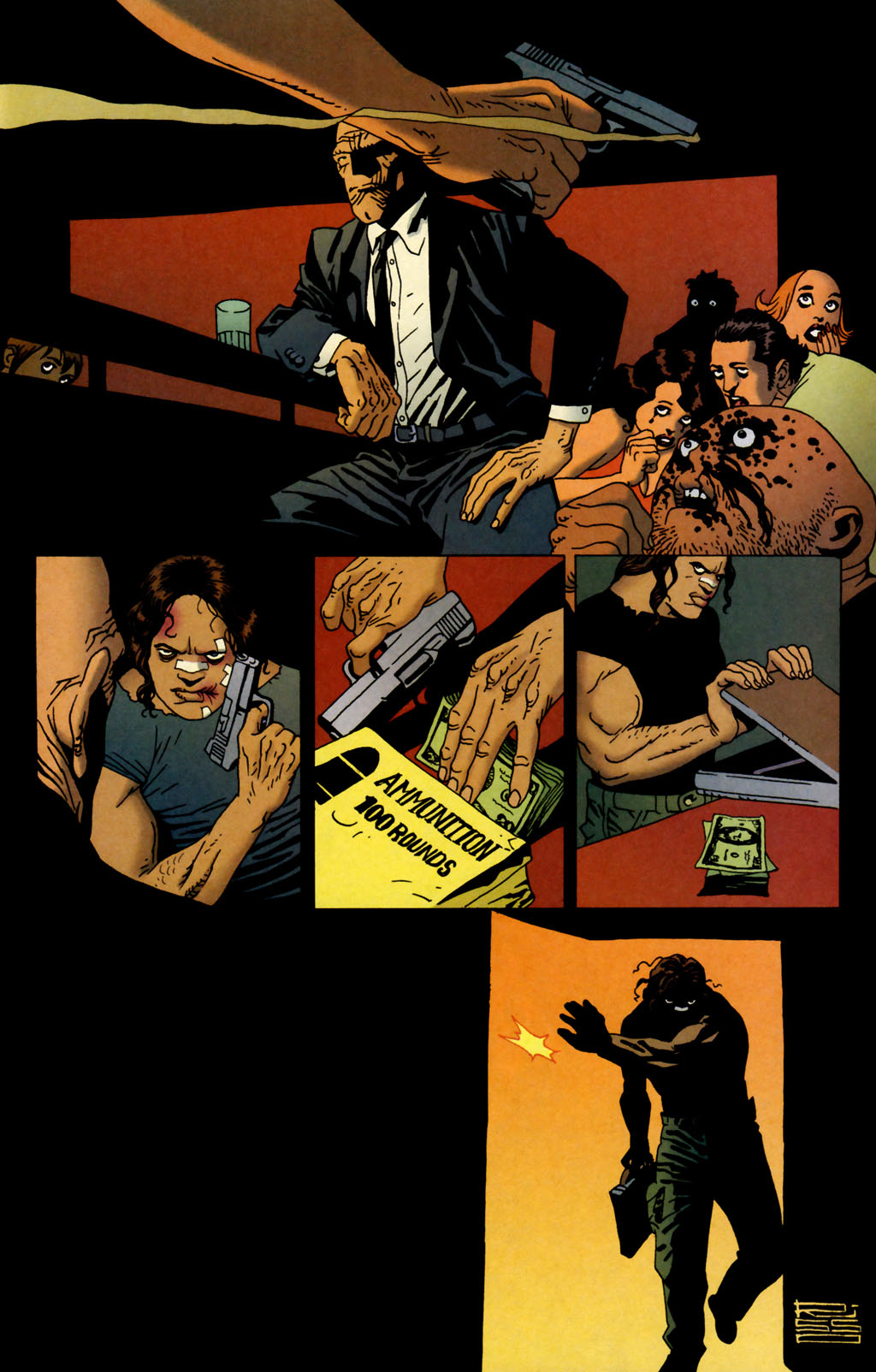 Read online 100 Bullets comic -  Issue #64 - 21