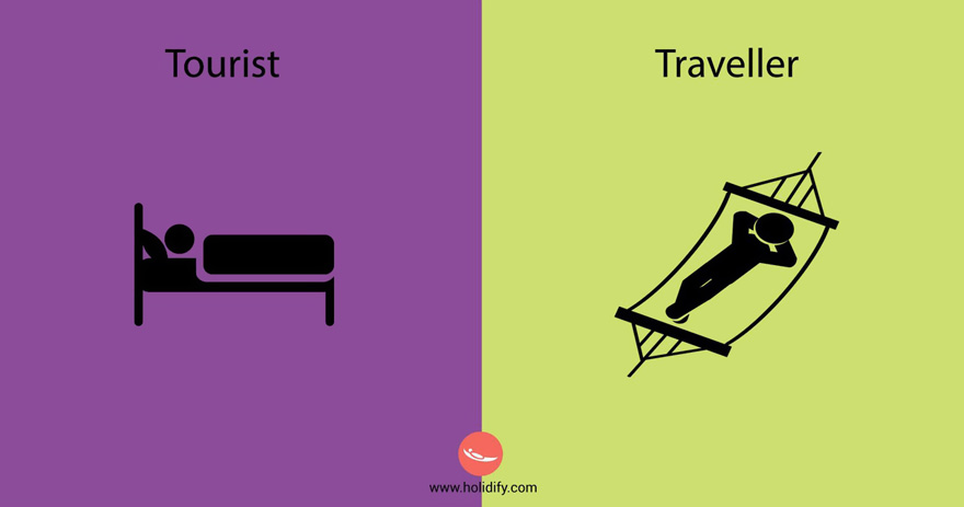 #8 Tourist Vs Traveller - 10+ Differences Between Tourists And Travellers