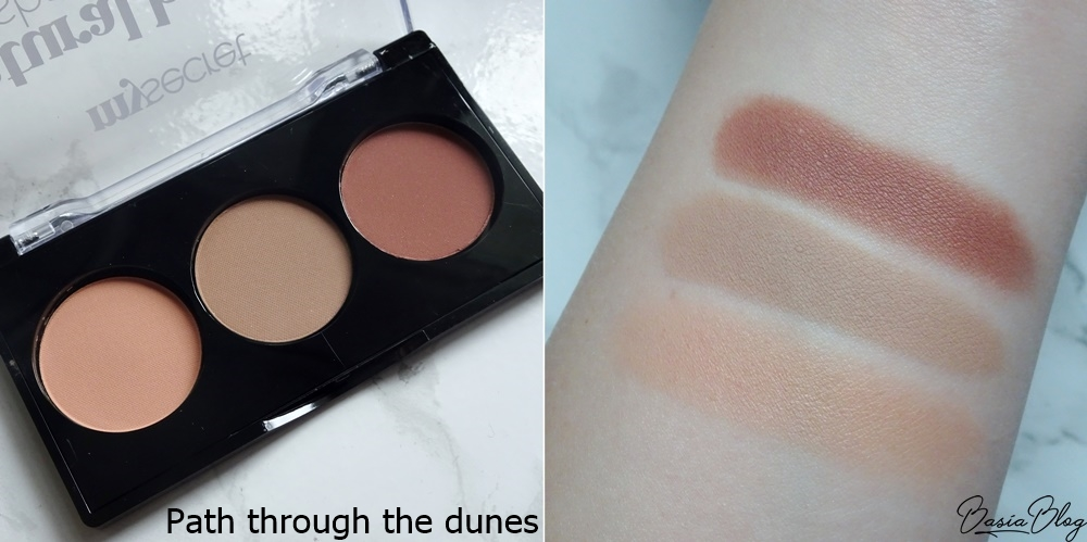 paleta cieni My Secret Path through the dunes, My Secret Natural Beauty Eyeshadow Palette