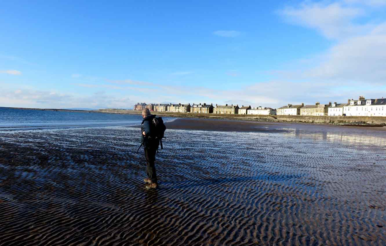 How Long From Troon Train Station To Beach