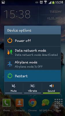 Restart Device Mengatasi Wifi Disimpan Diamankan