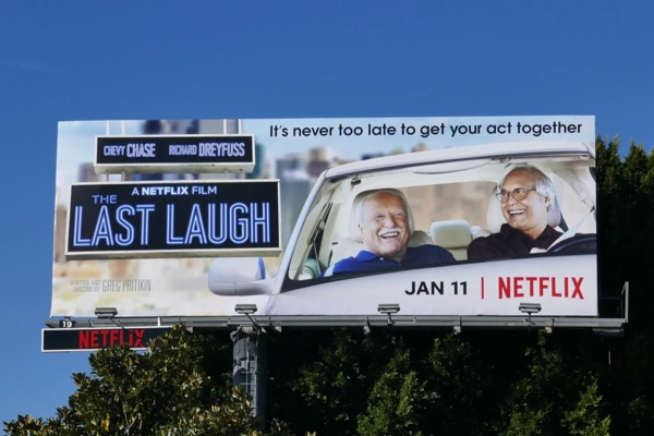 Last Laugh movie billboard