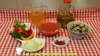 Cabrillas en salsa picante
