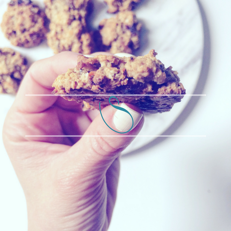 #Healthy Carrot Cake oatmeal cookies | Cookies avoine façon Carrot Cake | Vegan