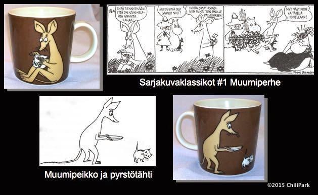 Moomin mug, Sniff