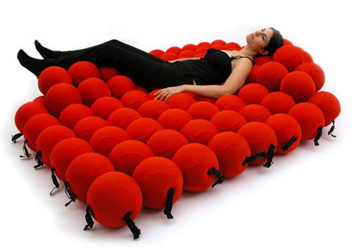 Diseño de sillón para tomar una siesta.
