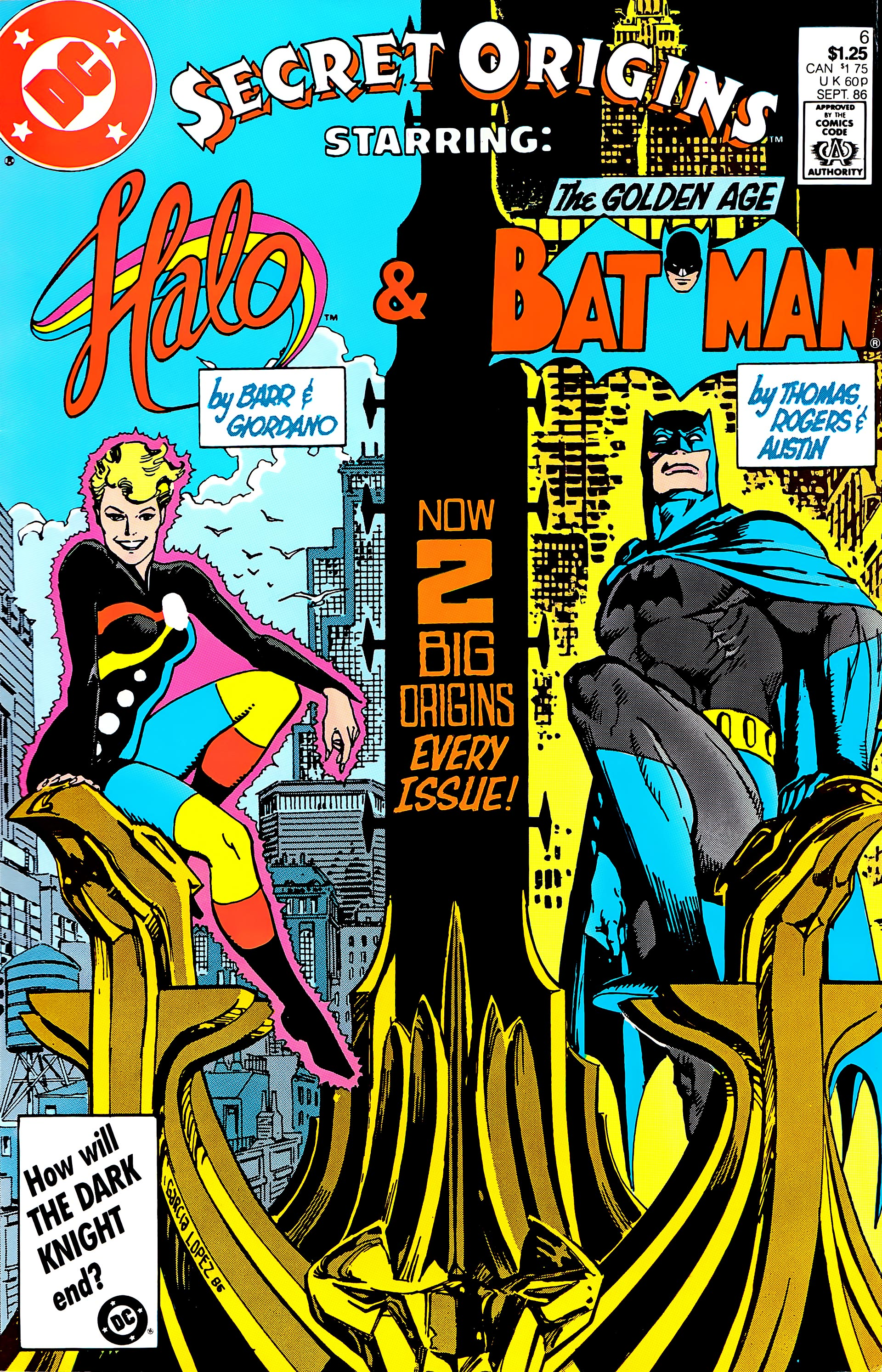 Read online Secret Origins (1986) comic -  Issue #6 - 1