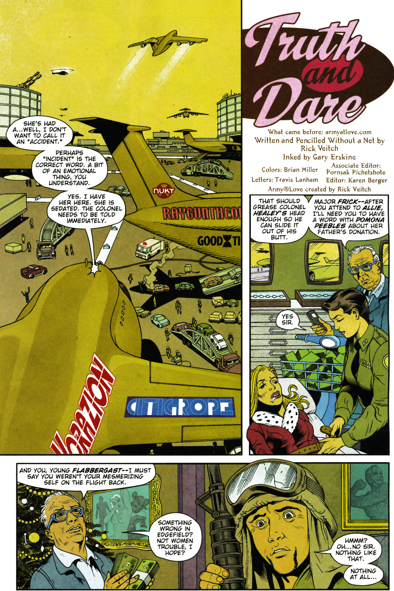Read online Army @ Love comic -  Issue #4 - 4