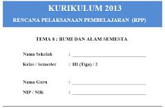 RPP Kelas 3 Semester 2 Kurikulum 2013 Revisi 2018