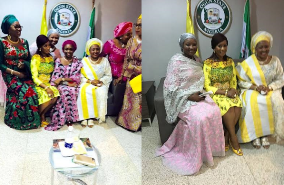 ,Mrs Aisha Buhari @ Dr Mrs Olufunso Amosun's 50th birthday celebration