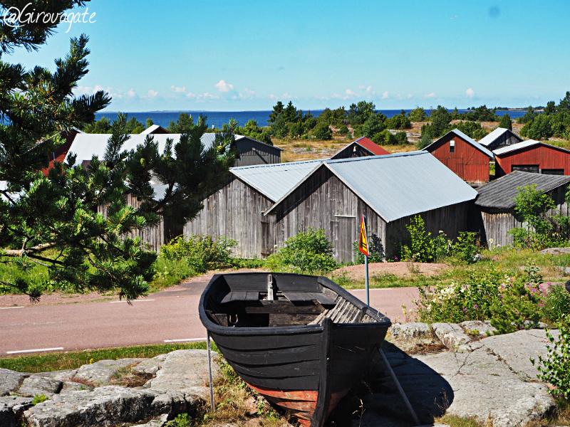 isole Aland Finlandia Eckero