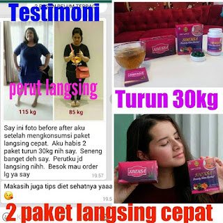 Testimoni Hasil Konsumsi Sinensa Beauty Slim Herbal dan Teh Slimming Herbal