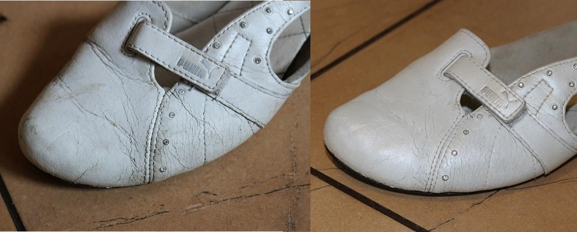 odnawianie białych butów